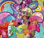 winx - color puzzle sort my tiles winx club