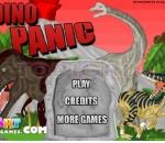 dinosaur in a panic dino panic run