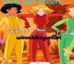 totally spies - memory puzzle totally spies memory