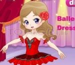 dress up ballerina girl