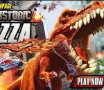 tyrannosaurus prehistoric pizza