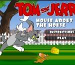 Tom and Jerry Mouse brazen.