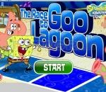 Спонджбоб Монопол  Race to the Goo Lagoon SpongeBob Game