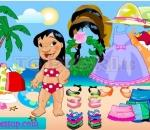 Dressing Lilo Lilo Hawaiian Beach Dressup.