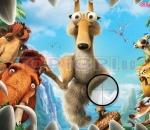 Ice Age 3 - Did the letters Ice Age 3 Hidden Alphabet.