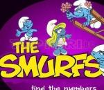 Смърфовете - Намери числата The Smurfs - Find the Numbers